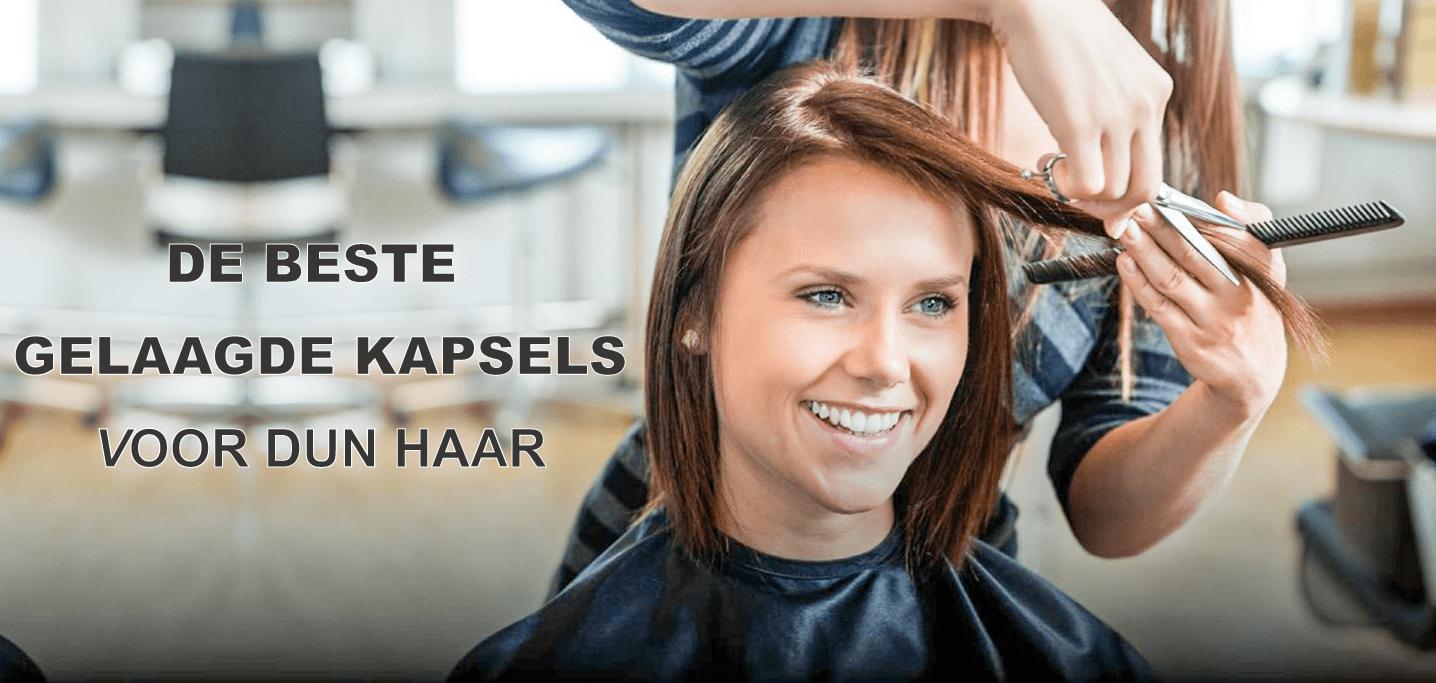 De 5 beste gelaagde dames kapsels voor dun haar